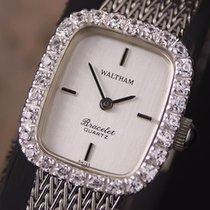 Waltham Ladies Beautiful Swiss Made 1980s Quartz Luxury Dress...