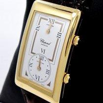 Chopard L.u.c Gmt Dual Time Very Rare 18k Yellow Gold 16/2240