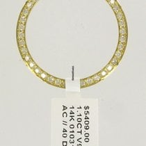 Rolex YG Diamond bezel NEW