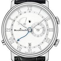 Blancpain [NEW] Villeret Reveil GMT 6640-1127-55B (Retail:HK$1...