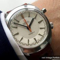 Omega Geneve Chronostop white dial