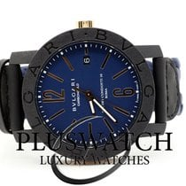 Bulgari Carbon Gold Automatic 40mm Blue Dial T  102634