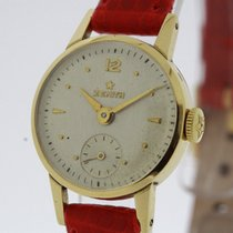 Zenith Vintage Ladies Watch solid 18K Yellow Gold Cal. 88.8-6...