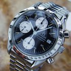 Omega Speedmaster Mens Swiss Chronograph Automatic Stainless...