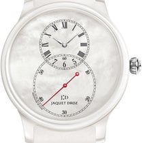 Jaquet-Droz Grande Seconde Ceramic Mother of Pearl