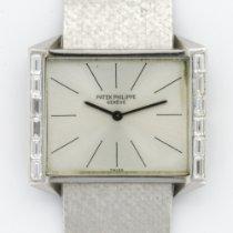 Patek Philippe Vintage White Gold Baguette Diamond Ref. 3506/2