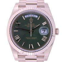 Rolex Day-Date 40 60th Anniversary Green Dial