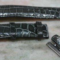 Van Der Bauwede leather strap grey mm20 with original steel...