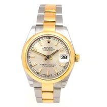 Rolex Midsize Two-tone Rolex Datejust Watch #178243 NEW STYLE