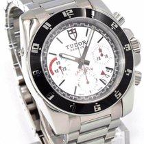 Tudor GranTour Chronograph 20350N Automatic White Dial w. Full...