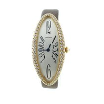 Cartier Ladies Cartier Baignoire Allongee 18k Yellow Gold...