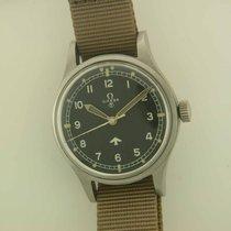 Omega Military RAF Pilots Watch 6B steel manual Rare