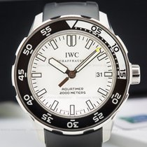 IWC IW356811 Aquatimer Automatic 2000 White Dial SS/Rubber...