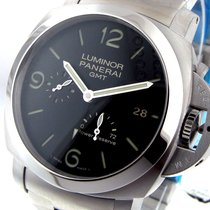 Panerai Unworn  Pam 347 Steel 44 Mm Luminor Gmt Power Reserve...