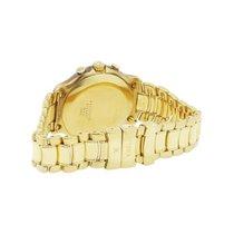 Ebel 1911 18k  Gold Cream Chronograph Roman Dial Watch