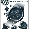 U-Boat Classico 53 Titanium IPB Shiny Ceramic Bezel
