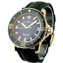 Blancpain 5015-3630-52 Fifty Fathoms Sport - Rose Gold on...