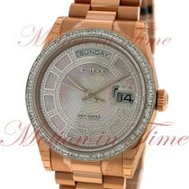Rolex Day-Date 36mm President, Carousel Pink Mother of Pearl...