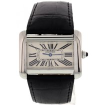 Cartier Ladies Cartier Tank Divan 2600 Stainless Steel w/ Box