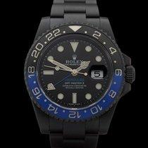 Rolex GMT-Master II Hercules Custom BLNR Batman Black DLC...