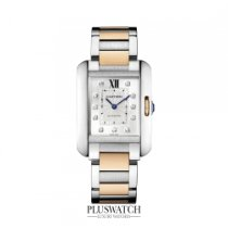 Cartier Tank Anglaise Ladies Silver Dial M