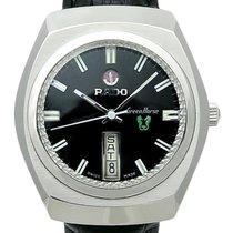 Rado Rare Vintage Mens 1970s Swiss Green Horse Black Dial...