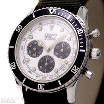 Zenith El Primero Automatic Chronograph Ref-022310400 Stainles...