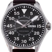 Hamilton Khaki Aviation Pilot Automatic 46 Black Dial