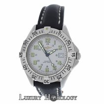 Breitling Men's  Colt A57035 Stainless Steel Date 300M...
