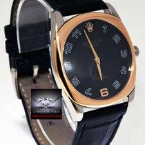 Rolex Cellini Danaos 18k White Rose Gold Manual Mens Watch...