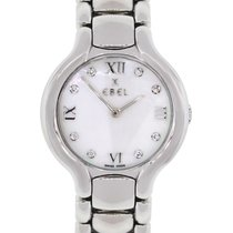 Ebel Beluga Mother of Pearl Diamond Dial Stainless Steel...