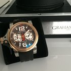 Graham Chronofighter RAC Trigger Rose Gold and Steel