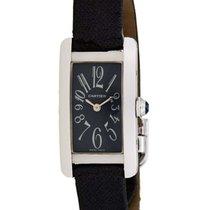 Cartier Tank Americaine 18K White Gold Watch – W2605129