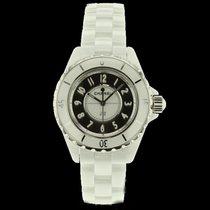 Chanel J12 Mirror Blanche céramique Quartz limitée 1200 pcs