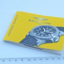 Breitling Anleitung Manual Avenger Seawolf