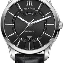 Maurice Lacroix PONTOS DAY DATE PT6358-SS001-330-1 Herren...
