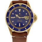Rolex Men's Vintage Rolex Submariner 18K Yellow Gold 1680...