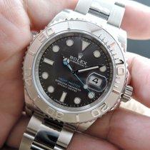 勞力士 (Rolex) YACHT MASTER 116622 with Rhodium Dial and Blue Hand