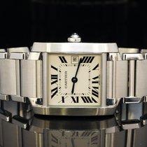 Cartier Tank Francaise Medium Size Quartz MINT, W51011G3