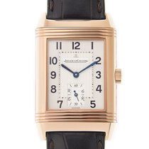 Jaeger-LeCoultre New  Reverso 18k Rose Gold Silvery White...