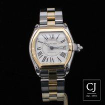 Cartier Roadster Stainless Steel And Yellow Gold Large Model