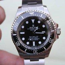 Rolex Mens 116660 Sea-dweller Deep Sea Year 2014 Box Card...