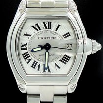 Cartier Roadster Large Size Stainless Steel Automatic Box...