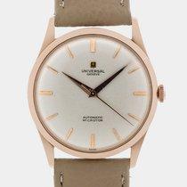 Universal Genève Rare 18k RG Microtor Desswatch / 35 mm /...