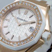 Audemars Piguet White Royal Oak Offshore Rose Gold 67540ok.zz....
