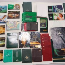 Rolex Booklets, Catalogs & Other Accessories