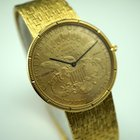 Corum $20 Coin watch w/bracelet original mint c.2000's