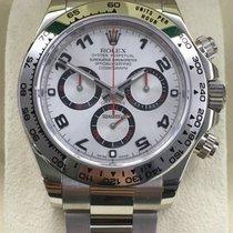 Rolex Daytona White Gold Arabic