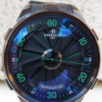 Perrelet Turbine XL Black and Green A1051-3