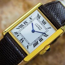 Cartier Tank Original Mid Size Unisex Dress Watch With Manual...